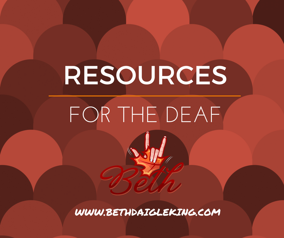 resources for the deaf